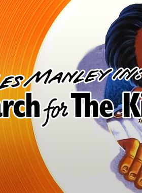 Les Manley in: Search for the King Key Art