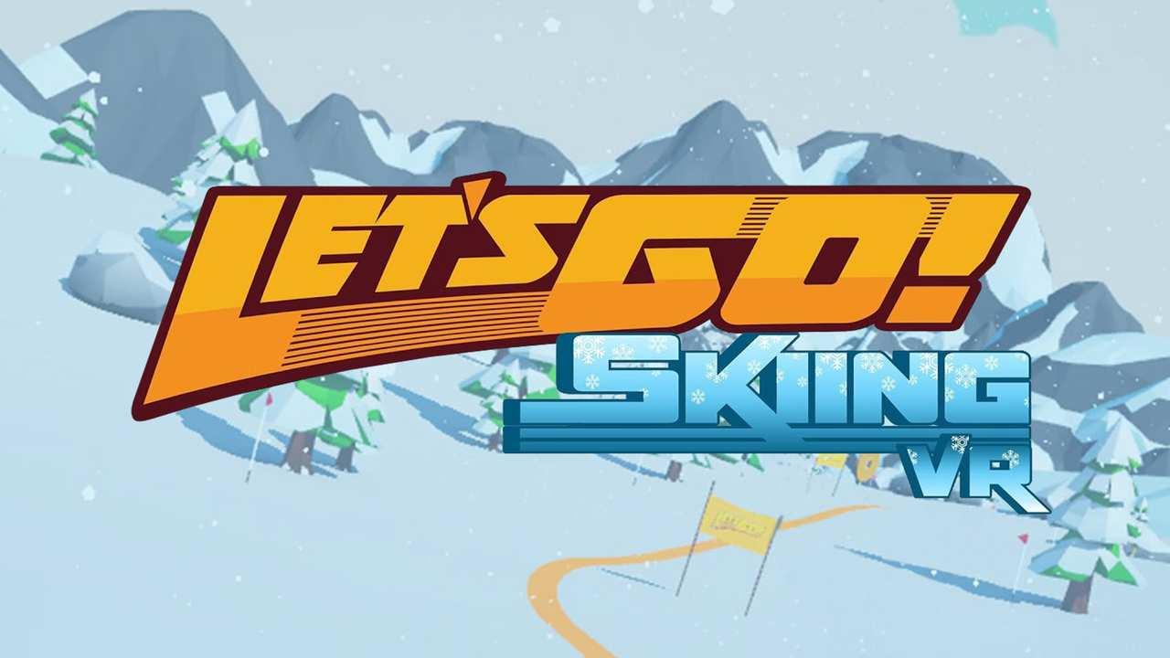 Let's Go! Skiing VR Key Art