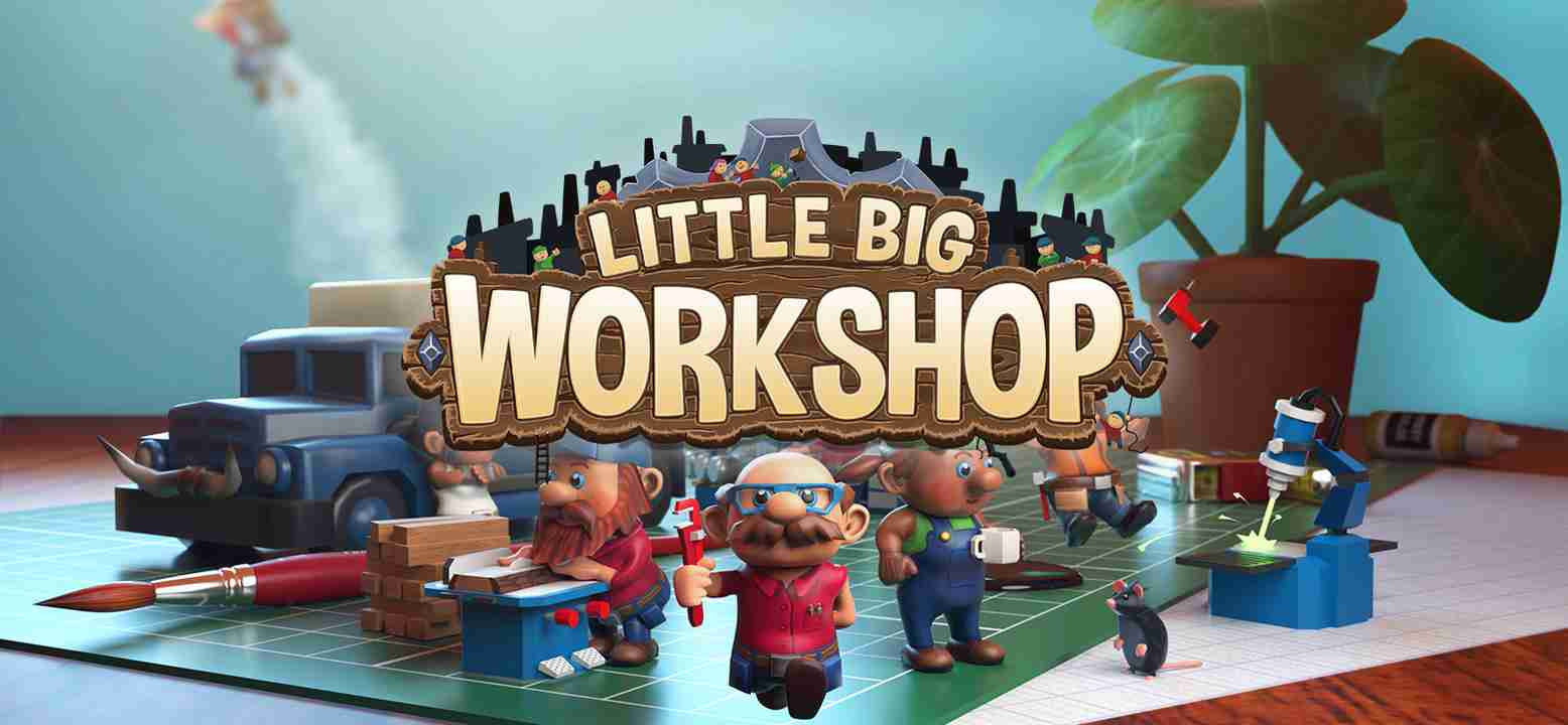 Little Big Workshop Key Art