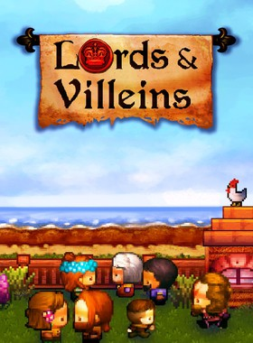 Lords and Villeins Key Art