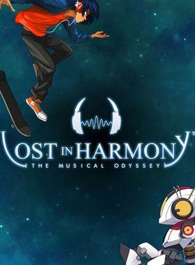 Lost in Harmony Key Art