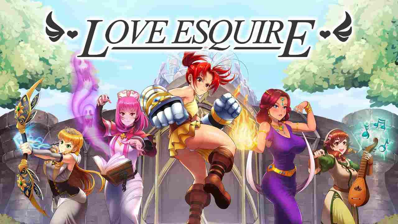 Love Esquire - RPG/Dating Sim/Visual Novel Key Art
