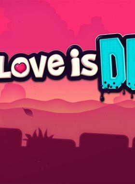 Love Is Dead Key Art