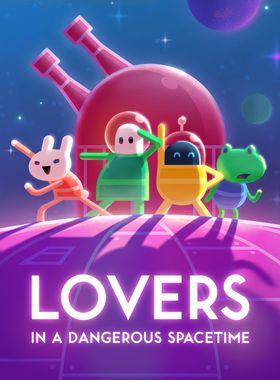 Lovers in a Dangerous Spacetime Key Art