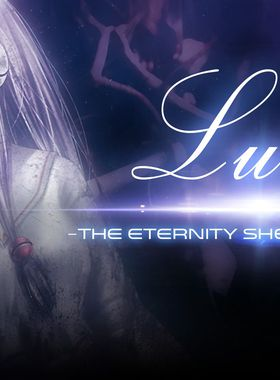 Lucy -The Eternity She Wished For- Key Art