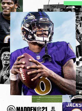 Madden NFL 21 Key Art
