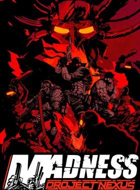 Madness: Project Nexus Key Art