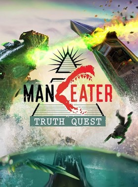 Maneater: Truth Quest Key Art