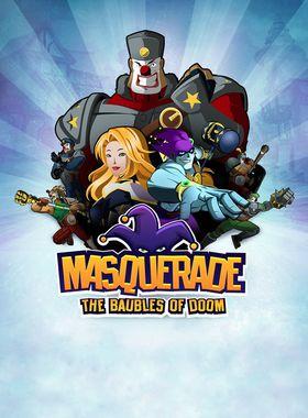 Masquerade: The Baubles of Doom Key Art