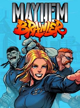 Mayhem Brawler Key Art