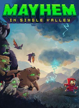 Mayhem in Single Valley Key Art