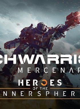 MechWarrior 5 Mercenaries - Heroes of the Inner Sphere Key Art