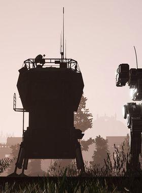 MechWarrior 5: Mercenaries Key Art
