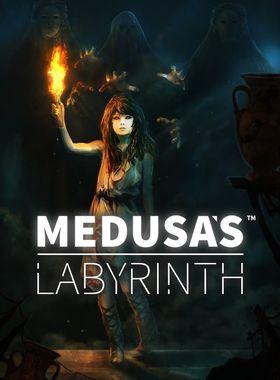 Medusa's Labyrinth Key Art