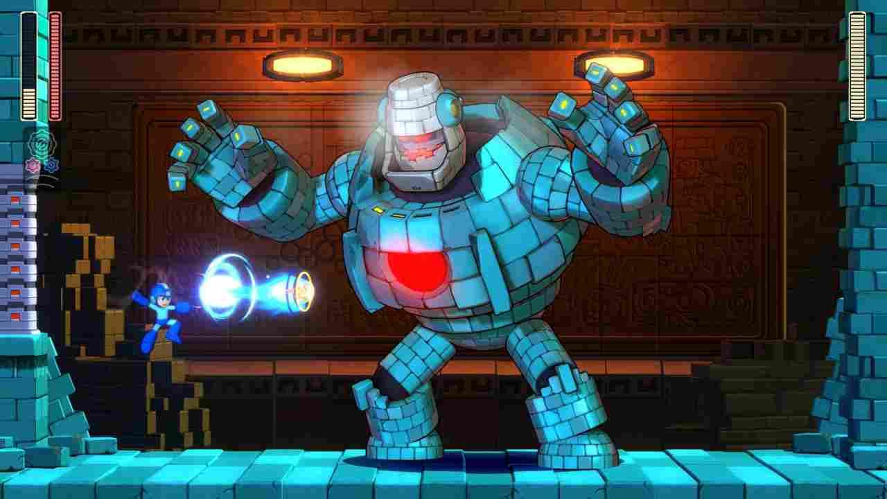 Mega Man 11 Background Image