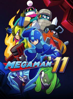 Mega Man 11 Key Art