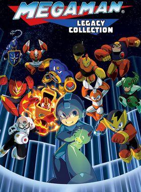 Mega Man Legacy Collection Key Art