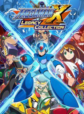 Mega Man X Legacy Collection Key Art