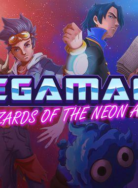 Megamagic: Wizards of the Neon Age Key Art