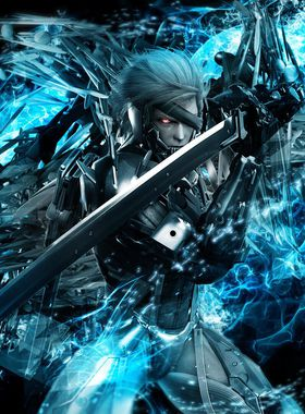 Metal Gear Rising: Revengeance Key Art