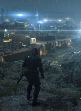 Metal Gear Solid 5: Ground Zeroes Key Art