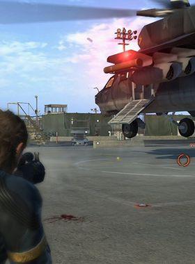 Metal Gear Solid 5 Key Art