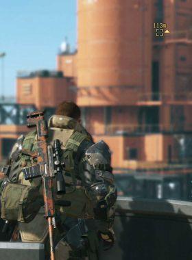 Metal Gear Solid 5: The Phantom Pain Key Art
