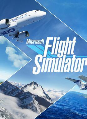 Microsoft Flight Simulator Key Art