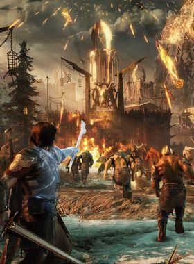 Middle-earth: Shadow of War - Desolation of Mordor Key Art