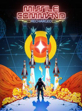 Missile Command: Recharged Key Art