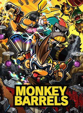 Monkey Barrels Key Art