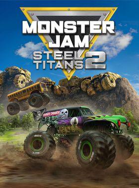 Monster Jam Steel Titans 2 Key Art