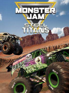 Monster Jam Steel Titans Key Art
