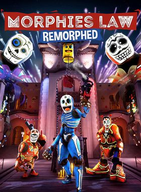Morphies Law: Remorphed Key Art