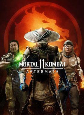 Mortal Kombat 11: Aftermath Key Art