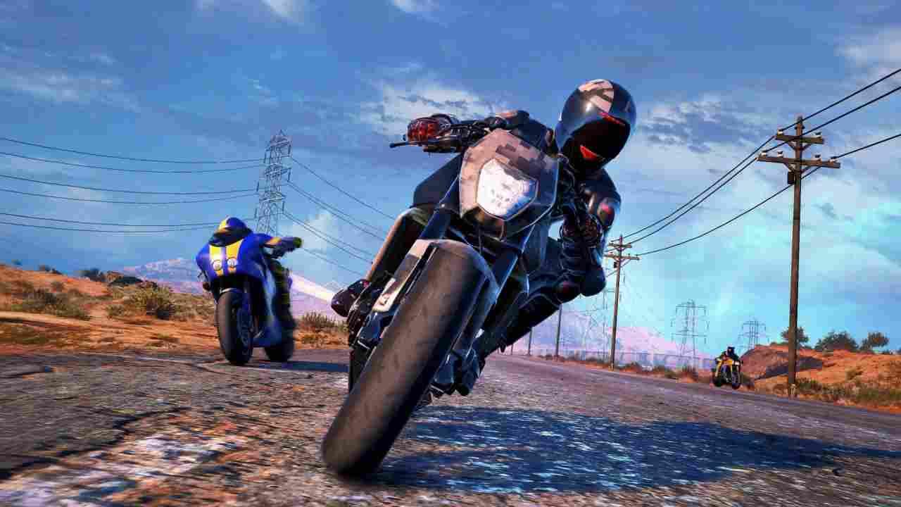Moto Racer 4 Background Image
