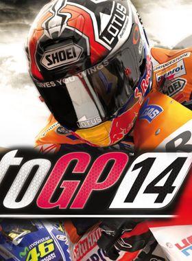 MotoGP 14 Key Art