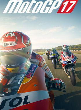 MotoGP 17 Key Art