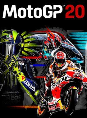 MotoGP20 Key Art