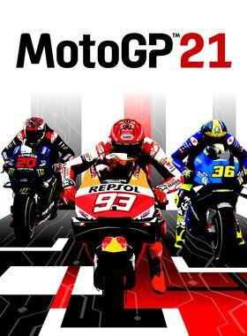 MotoGP21 Key Art