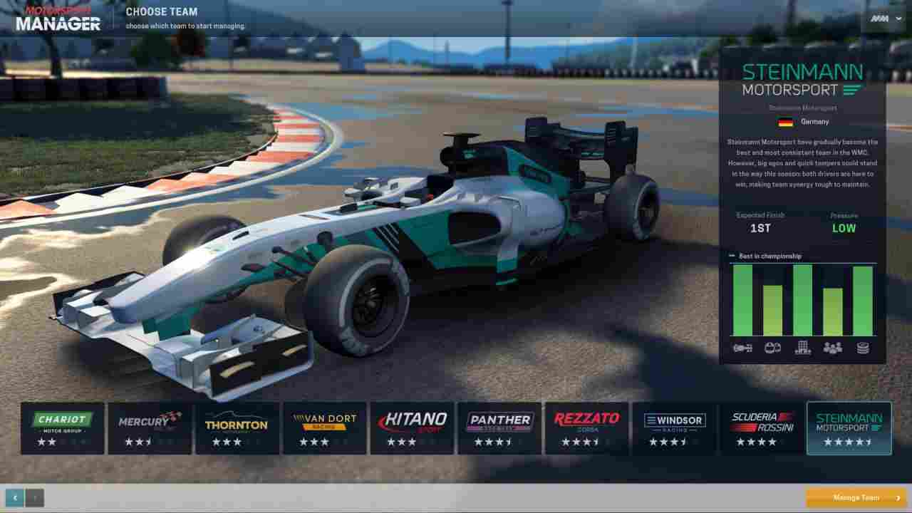 Motorsport Manager Thumbnail