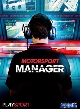 Motorsport Manager Key Art