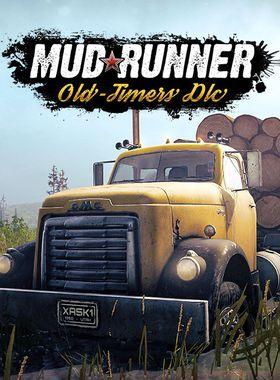 MudRunner - Old-timers Key Art