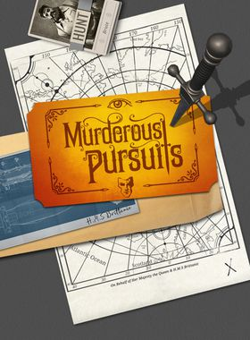Murderous Pursuits Key Art