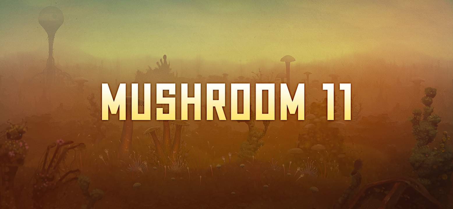 Mushroom 11 Background Image