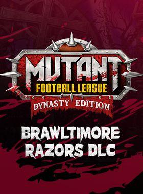 Mutant Football League: Brawltimore Razors Key Art