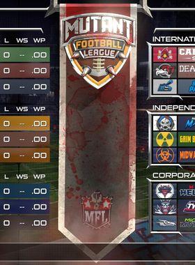 Mutant Football League Key Art