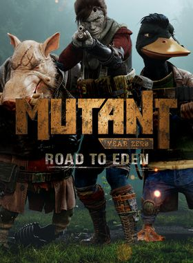 Mutant Year Zero: Road to Eden Key Art