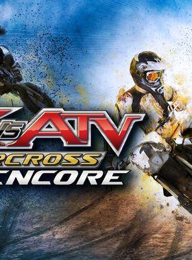 MX vs. ATV Supercross Encore Key Art