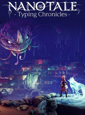 Nanotale - Typing Chronicles Key Art